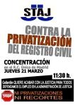 Cartel RCiviles 21 marzo